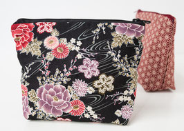 Cosmetic case BENI Hanazono Black