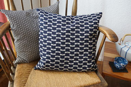 SHIKAKU cushion TOMBO Indigo blue
