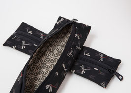 Pencil case ENPITSU Tonbo Black