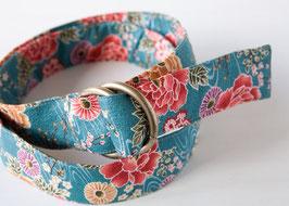 Belt MACHI Hanazono Turquoise
