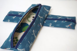 Pencil case ENPITSU Tonbo Blue