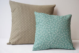 SHIKAKU Cushion Tonbo green