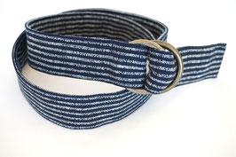 Belt MACHI Shima Indigo blue