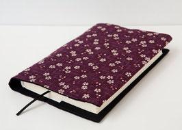 Buchhülle TOSHO Sakura violett