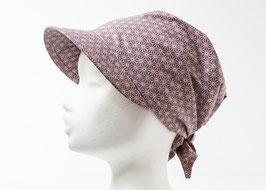 Headscarf SORA Asanoha Lilac