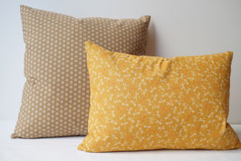 SHIKAKU cushion TOMBO Mustard yellow