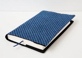 Buchhülle TOSHO Kanoko blau
