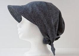 Headscarf SORA Samekomon indigo blue