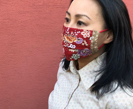 JOBI MASK Hanazono Red