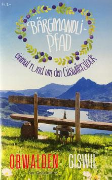 Broschüre Bärgmandli-Pfad