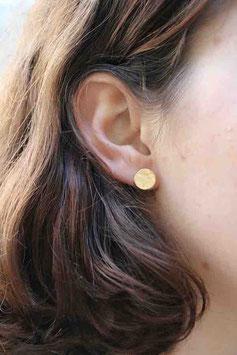 Boucles d'oreilles SOL plaqué or