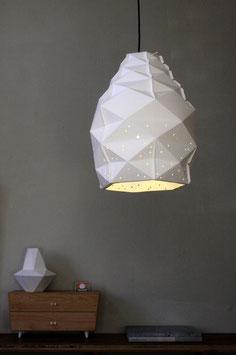 Campana-Papierleuchte weiß