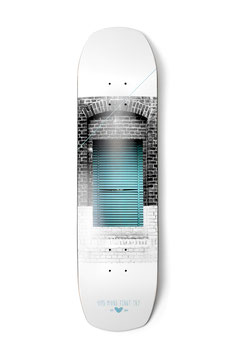 Shutter Double Tail - Shaped Deck