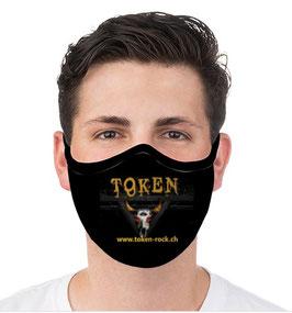 Mundschutz mit TOKEN Logo - wiederverwendbar und waschbar