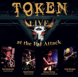 "LIVE CD ""TOKEN LIVE AT THE FAT ATTACK"""