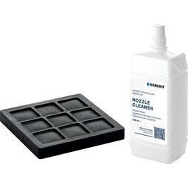 Set Aktivkohlefilter und Düsenreiniger für Geberit AquaClean 8000