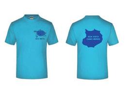 T-Shirts Männer turquoise türkis