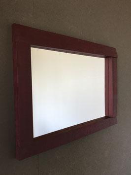 Wandspiegel  Weinrot 2