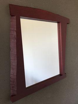 Wandspiegel  Weinrot