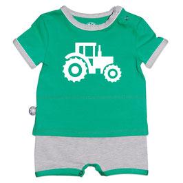 Groen tractor KM