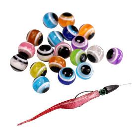Perlen für Texas Rig Carolina Rig durchmesser 6mm