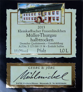 Müller-Thurgau trocken QbA