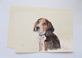 "Karte ""Beagle"""