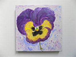 """Blume """"Stiefmütterli"""" lila/gelb"""