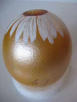 "Straussenei ""Margerithe"" - orange"