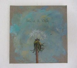 "Pusteblume ""Make a wish"""