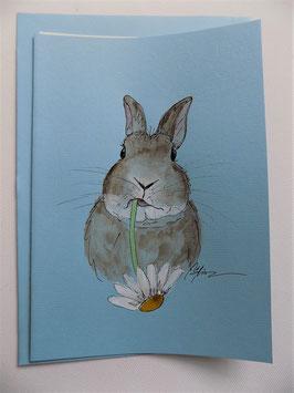 """Karte  Bunny """"Margerithe"""""""