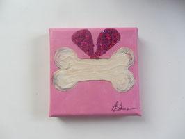 "Minis - ""Hundeknochen"" pink"