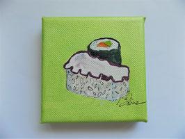 """Mini  Sushi """"Tako Nigiri"""""""