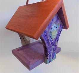 """Vogelfutterhaus klein """"Lavendel"""""""