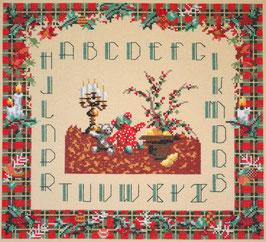 Abécédaire Noël - Broderie point de croix