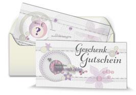 Geschenk-Gutschein Preis-Auswahl individuell - Art.Nr. GS20-00