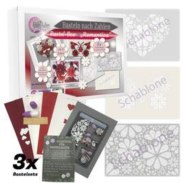 Bastel-Box Romantica, 3 x Bastelspaß für Kinder und Erwachsene ab 8 Jahre zu einem Preis* - Art.Nr. BB-01