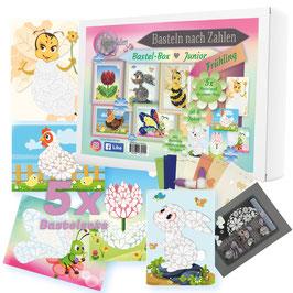 Bastel-Box Frühling, 5 x Bastelspaß für Kinder ab 6 Jahre zu einem Preis* - Art.Nr. BB-F01