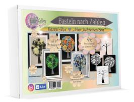 Bastel-Box Vier Jahreszeiten, 4 x Bastelspaß für Kinder und Erwachsene ab 8 Jahre zu einem Preis* - Art.Nr. BB-06