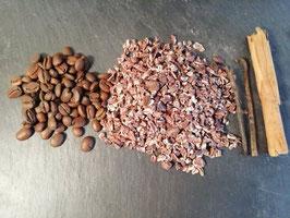 Mélange Cacao-Café pour rhum arrangé en sachet de 70g