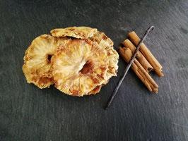 Mélange ANANAS-VANILLE-CANNELLE  pour rhum arrangé en sachet de 90g