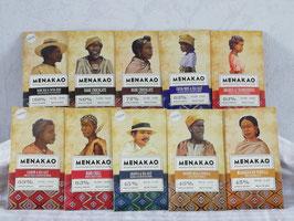 10 Tablettes de chocolat MENAKAO ( au choix)