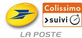 Frais de port supplémentaire pour livraison à domicile via la poste en colissimo
