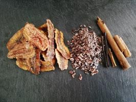 Mélange Cacao-Banane pour rhum arrangé en sachet de 90g