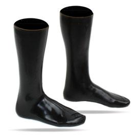 LatexDreamwear – Socken Wadenhoch extra dick