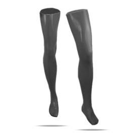 LatexDreamwear – Latex Strümpfe mit geformten Waden und  Oberschenkeln