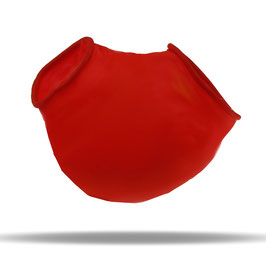 LatexDreamwear - Hodensack / Hoden Kondom rot 0.3