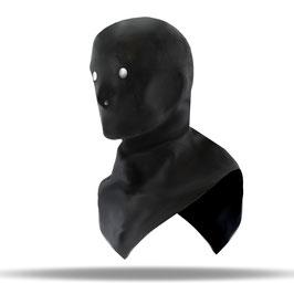 LatexDreamwear – anatomisch geformte Henker Maske mit Kragen