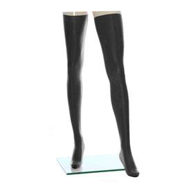 LatexDreamwear – Strümpfe superlang 0,4 schwarz