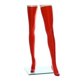 LatexDreamwear – Strümpfe superlang 0,4 rot
